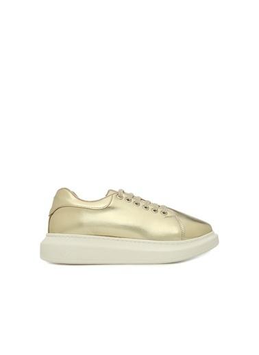 Divarese Divarese 5023065  Kadın Sneaker Altın